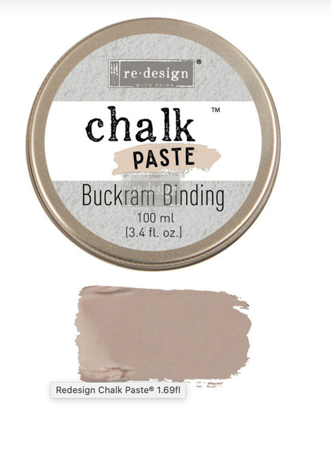 Buckram Binding Chalk Paste from Redesign with Prima