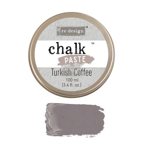 Turkish Coffee Chalk Paste from Redesign with Prima
