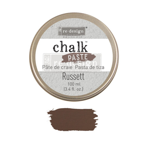 Russett  Chalk Paste from Redesign with Prima