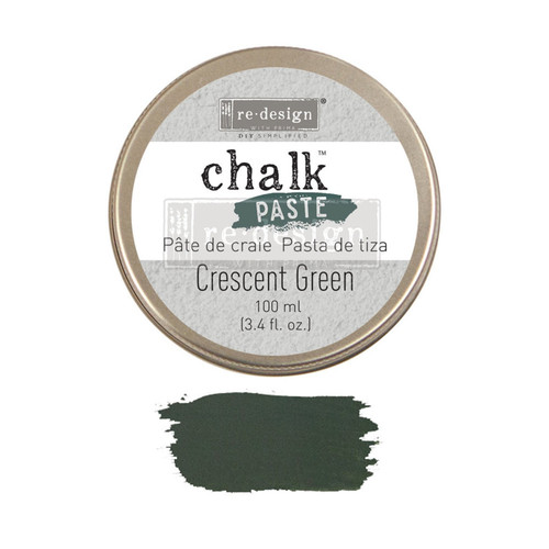 Cresent Green  Chalk Paste from Redesign with Prima