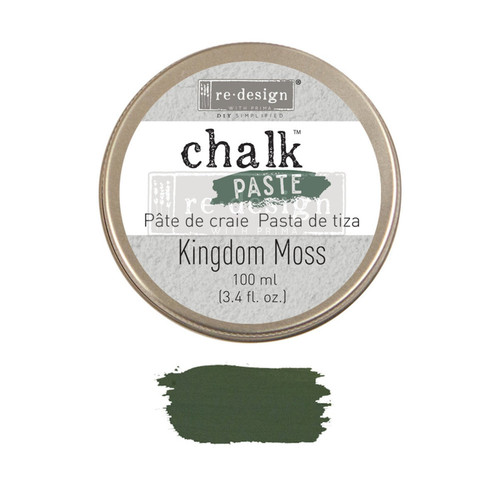 Kingdom Moss Chalk Paste from Redesign with Prima