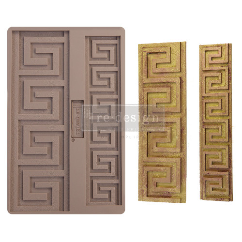 Italian Borders Silicone Mold from Redesign with Prima with Free Shipping