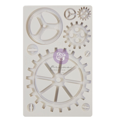 Finnabair Large Gear Resin and Clay Mold from Redesign with Prima  with Free Shipping