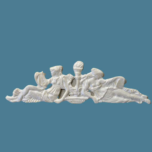 P9 Tuscan Beauty Pediment from EFEX.  Made In USA, Free Shipping