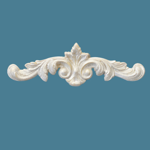 P13 Dainty Floral Pediment with EFEX with Free Shipping