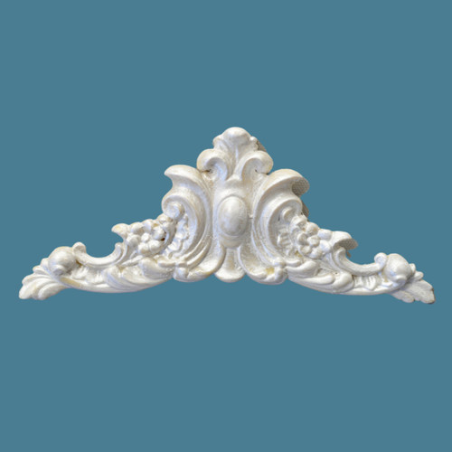 P8 Flower and Leaf Pediment from EFEX with  Free Shipping. Made in the USA