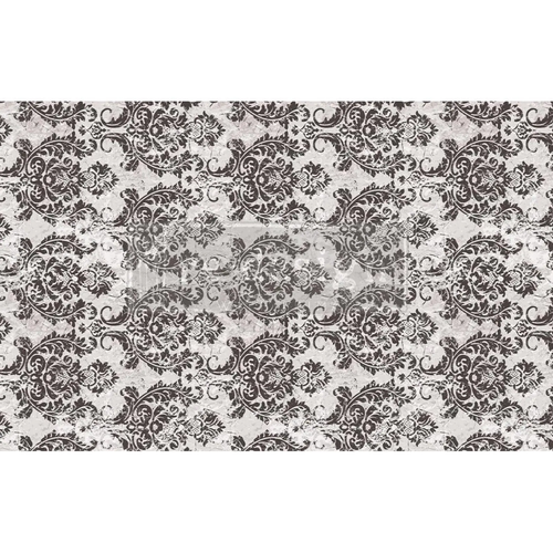 Evening Damask Paper Redesign Decoupage Mulberry Tissue Paper with Free Shipping