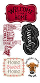 Home and Farm Small Rub On Furniture Decor Transfers from Redesign Prima  with FREE Shipping,  12 x 6 transfer