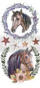 """Affordable transfers! Wild Souls Transfer Collection 12"""" X 6"""" with FREE Shipping"""