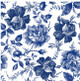 Blue Sketched Decoupage Rice Paper from Dixie Belle 3 sheets per pack and Free Shipping