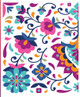 Latin Floral Rub on Transfer by Dixie Belle Paint