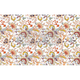 Tangerine Spring Paper Redesign Decoupage Mulberry Tissue Paper with Free Shipping
