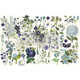 Blue Meadows Spring Paper Redesign Decoupage Mulberry Tissue Paper with Free Shipping Blue Meadows Spring Paper Redesign Decoupage Mulberry Tissue Paper with Free Shipping