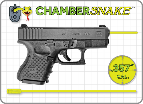 ChamberSnake for .357 Handgun