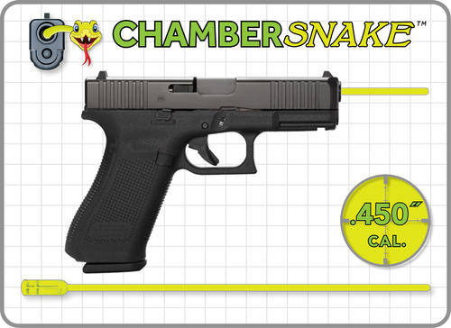 ChamberSnake for .45 Cal. ACP : 9.5″ Extension
