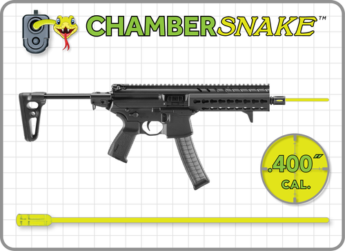ChamberSnake for .40 cal. S&W Submachine Guns
