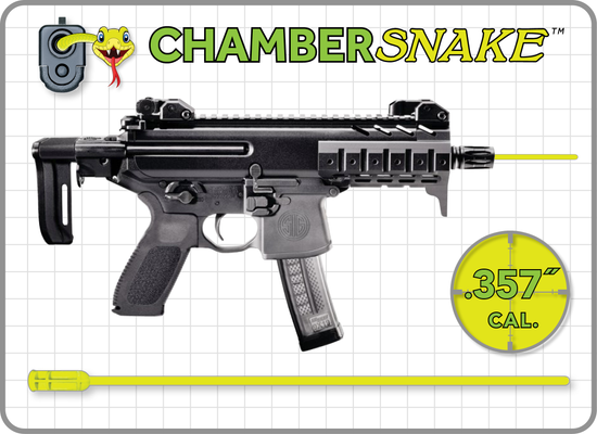 ChamberSnake for .357 cal. : 12.5″Extension