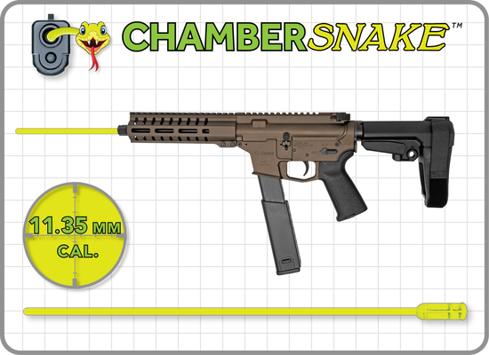 ChamberSnake for 11.35 ACP : 12.5″Extension