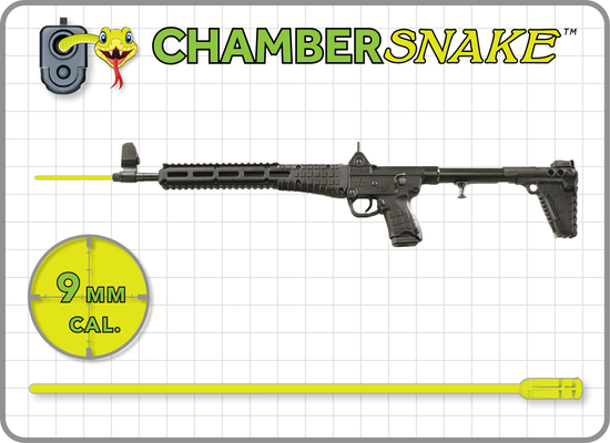 ChamberSnake for 9mm : 38″ Extension