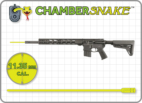 ChamberSnake for 11.35mm : 38″Extension