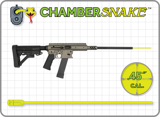 ChamberSnake for .45 Cal. Rifles