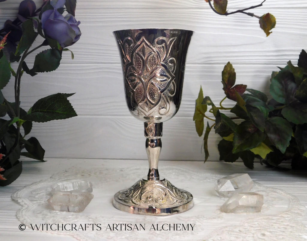 GOTHIC Silver Chalice