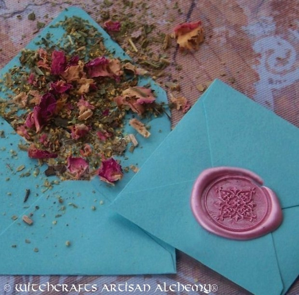 "NEW LIFE RENEWAL ""Spirit of Magic"" Herb Loaded Envelope Spell Packet"