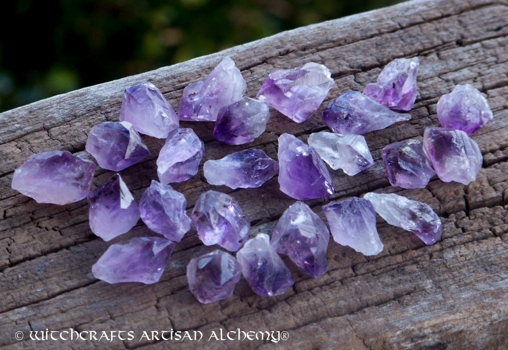 BRAZILIAN AMETHYST POINT Natural Rough Specimen