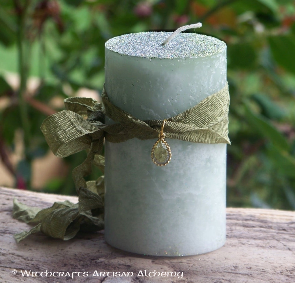 "BAYBERRY ""Legends of Luck"" ""Old European Witchcraft"" Pillar Candle"