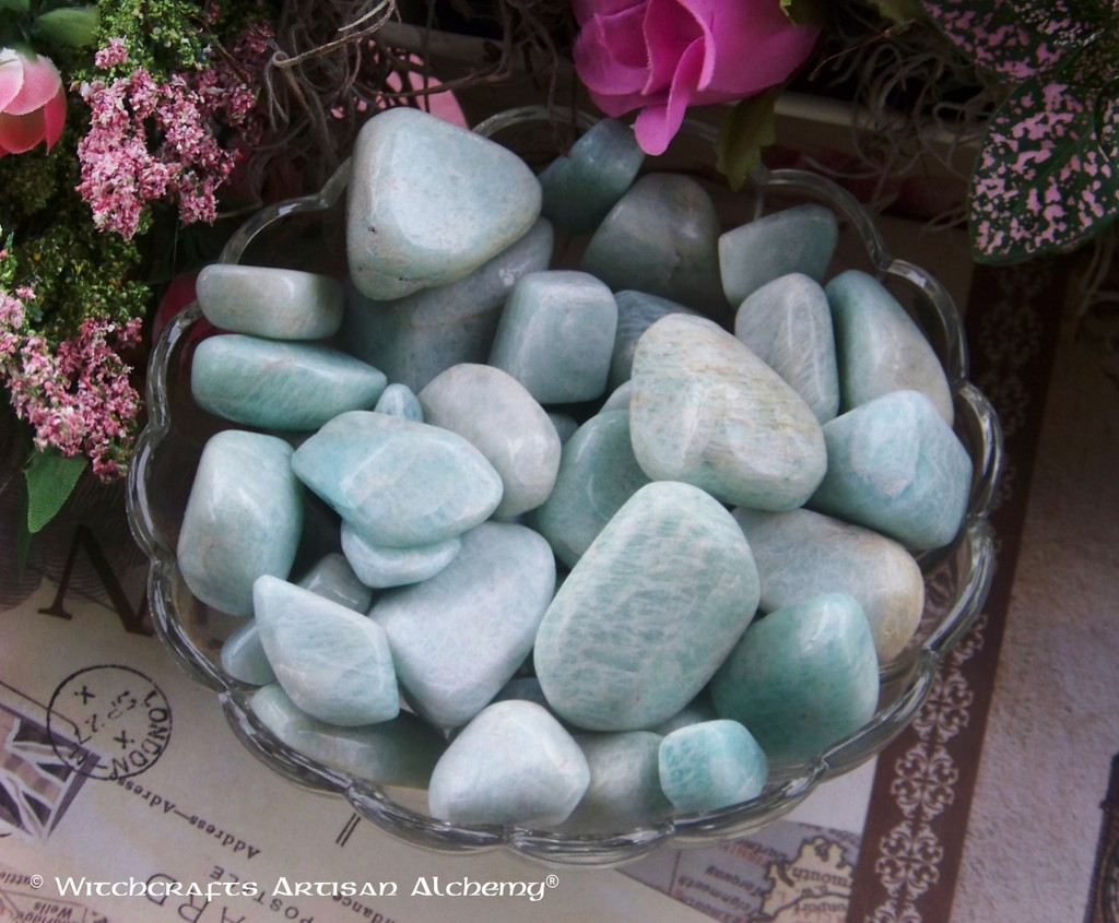 AMAZONITE Tumbled Gemstone