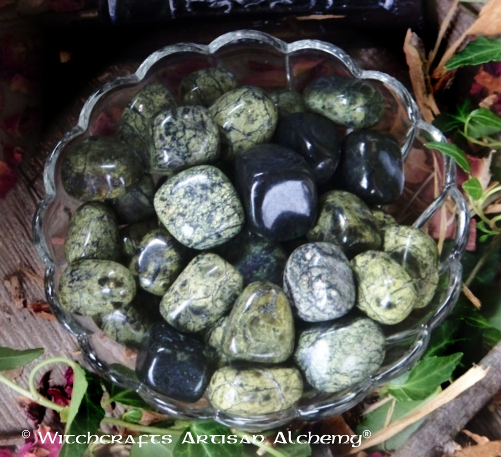 ASTERITE SERPENTINE Tumbled Gemstone