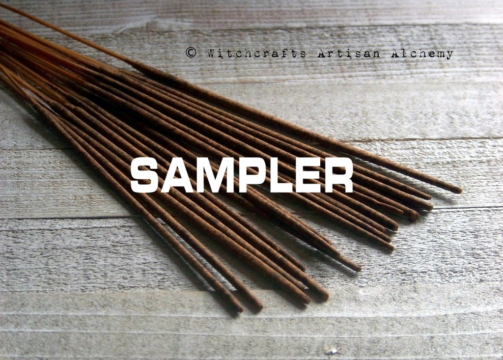 INCENSE SAMPLER Signature Premium Master Crafted Stick Incense, Your Choice of Fragrances