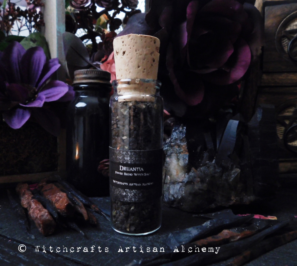 DRUANTIA Banishing and Protection Witch's Ritual Salt
