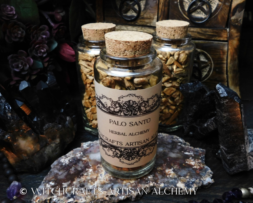 Palo Santo Sacred Wood Incense w/ Palo Santo Essential Oil