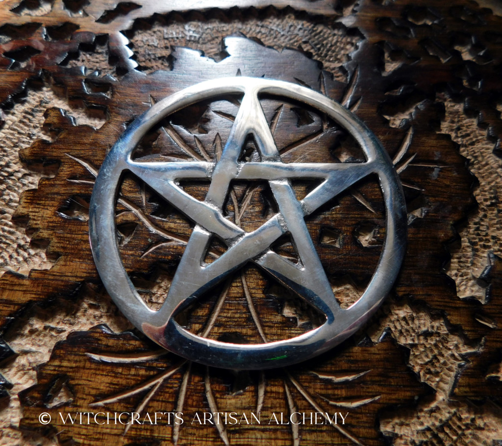 Cut-Out Pentagram Altar Tile