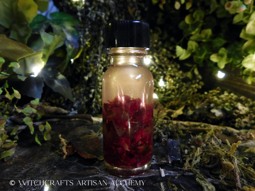 WITCH'S POMEGRANATE  Signature Collection Artisan Alchemist Ritual Oil