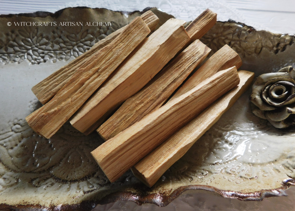 PALO SANTO Essential Oil Infused Sacred Holy Wood Smudge Stick Incense
