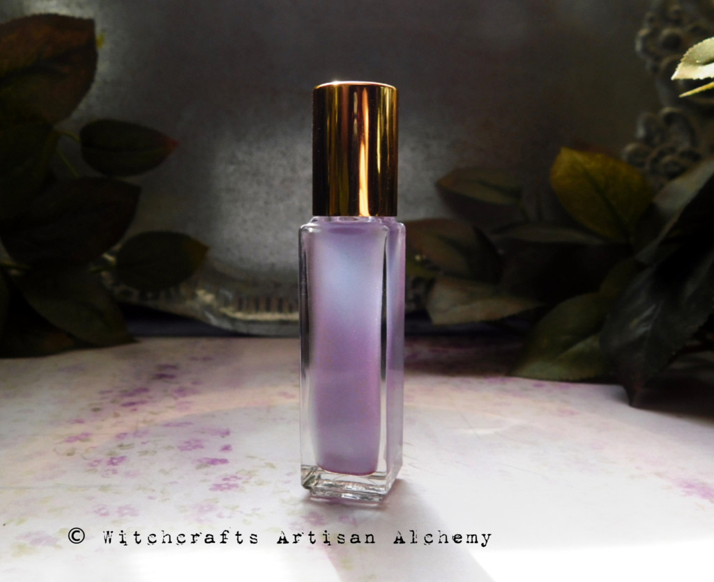 MATERIA MAGICA Shimmery Amethyst Witchcrafts Artisan Alchemy Roll-On Perfume Oil