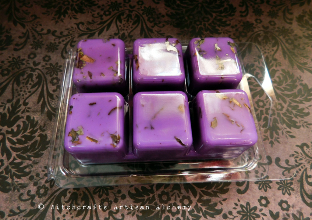 VISION QUEST Highly Scented Purple Artisan Soy Paraffin Wax Blend Clamshell Melts