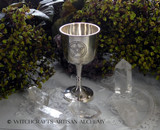 Pentacle Silver Chalice
