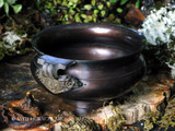 ANCIENT OFFERINGS Bronze Cauldron Bowl Incense Burner
