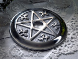PENTACLE Ash Catcher and Incense Cone Burner