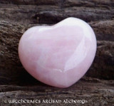 Rose Quartz Gemstone Heart