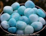 BLUE ARAGONITE Tumbled Gemstone