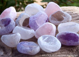 SEER STONE Dreamer's Crystal Magic Window Egg Ema River Tumbled Gemstone