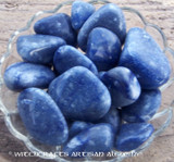 "BLUE ADVENTURINE ""Dream Stone"" Tumbled Gemstone"