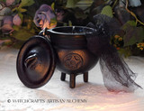 "BLACK CAULDRON BREW Signature Scent ""Old European Witchcraft"" Cauldron Candle"