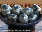 PYRITE Large Tumbled Gemstones