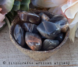 BLACK MOONSTONE Tumbled Gemstone