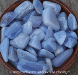 BLUE LACE AGATE Tumbled Gemstones